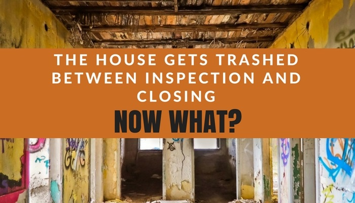 The Seller Trashed the Home After Inspection