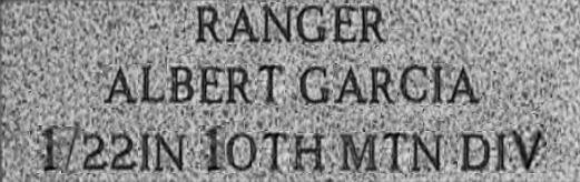 Ranger Memorial Stone