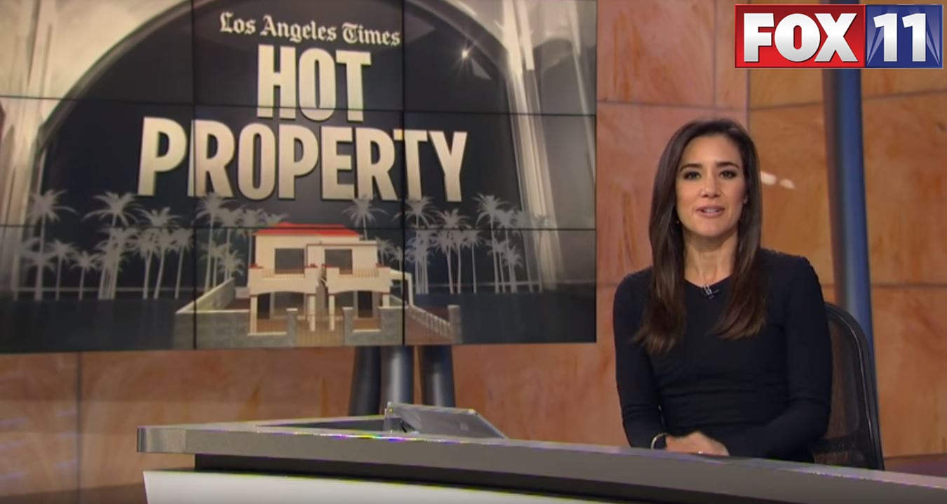 Fox11 LATimes Hot Property - Malibu Pyramid House