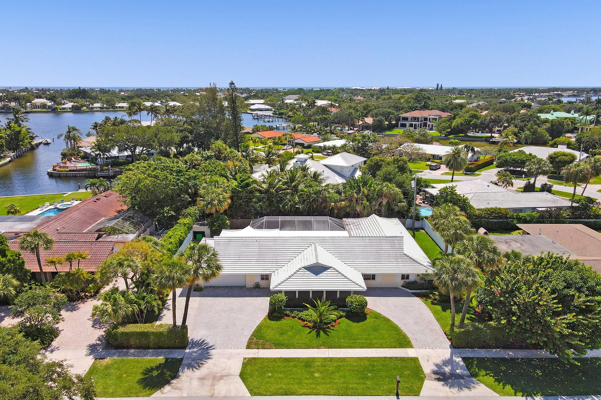 Hidden Key Home for Sale in North Palm Beach Florida