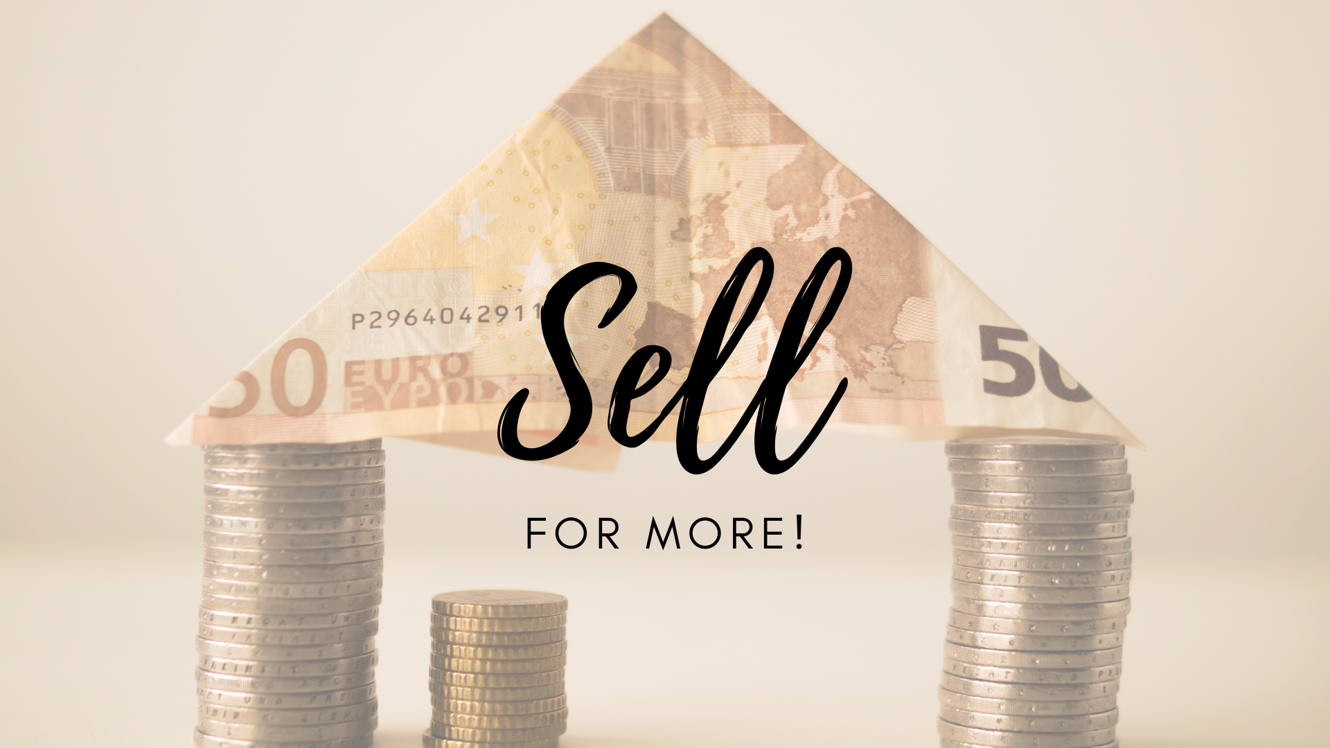 Sell for more. Hire a Pro.  Selling your home.