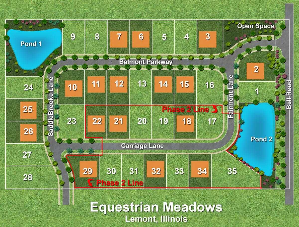 Equestrian Meadows Site Plan