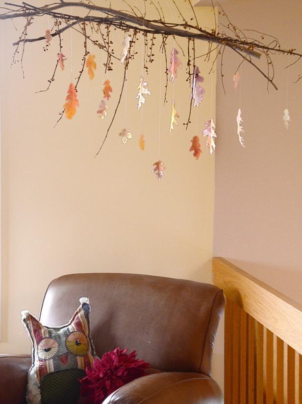 fall nursery mobile