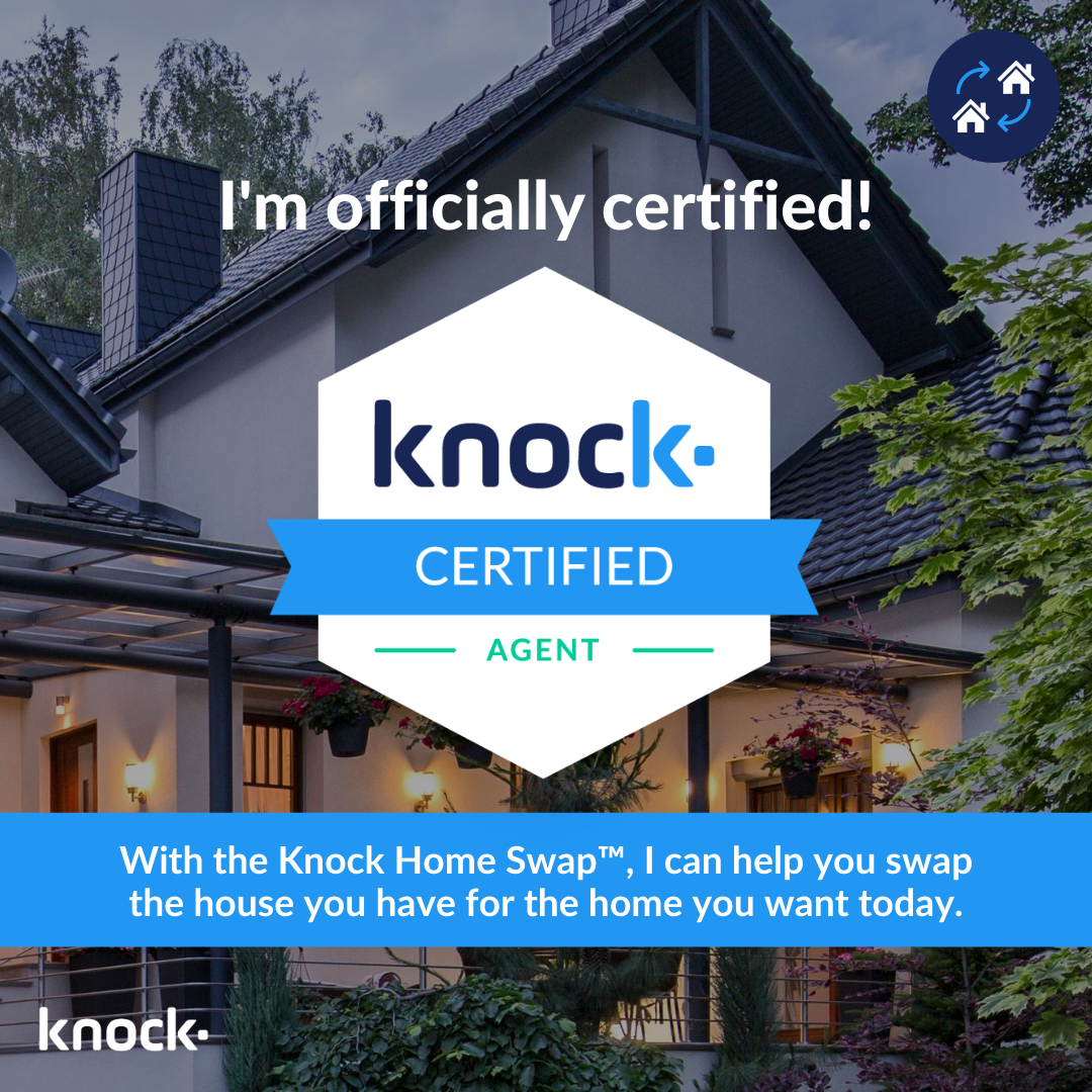 I'm officially certified to help you buy before you sell