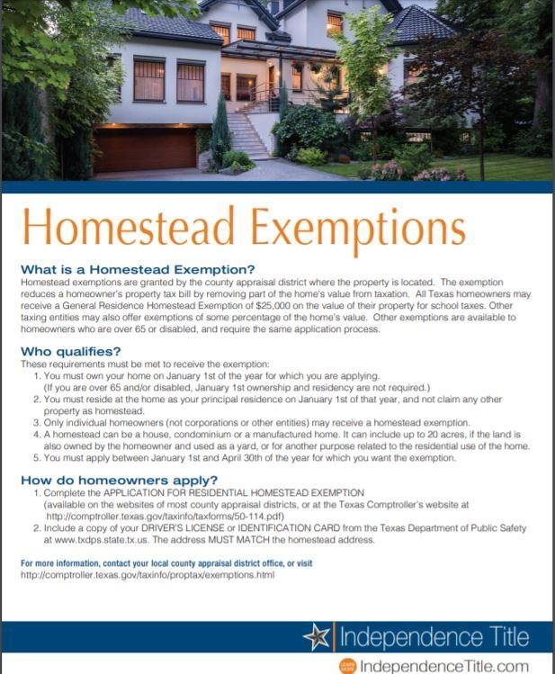 HomesteadExemptions Pic