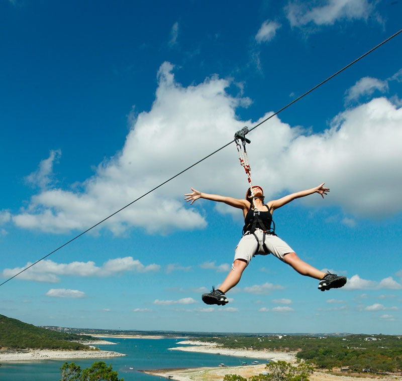 Cedar Park Texas Zip Line Adventure