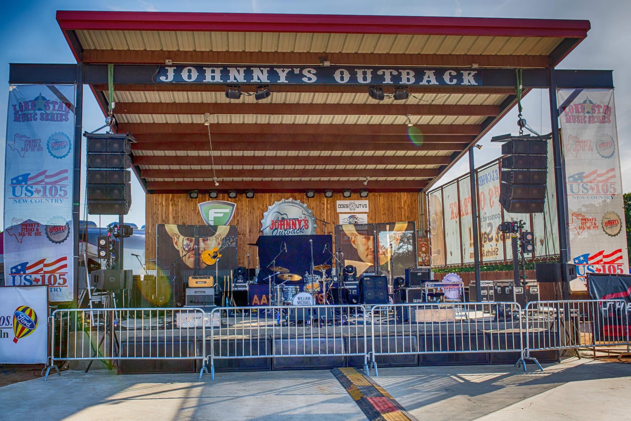 Johnnys BBQ Salado Texas Concerts