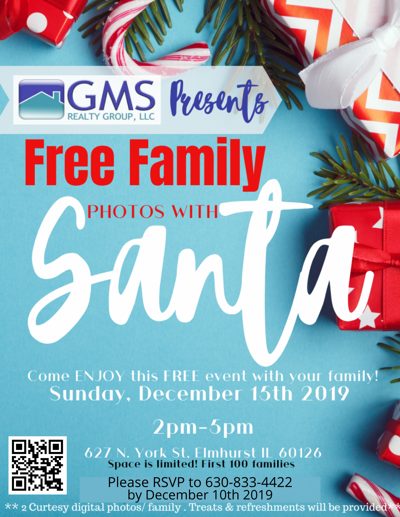 Free Family Pictures With Santa