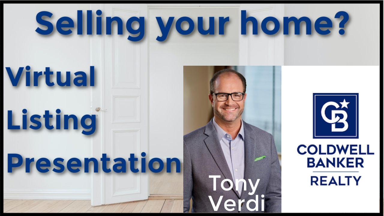 Tony Verdi virtual listing presentation video