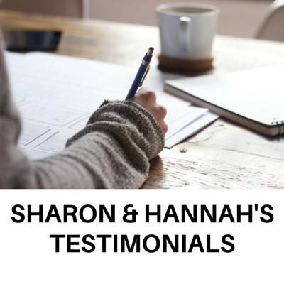 Sharon Cook & Hannah Yuhas's Testimonials