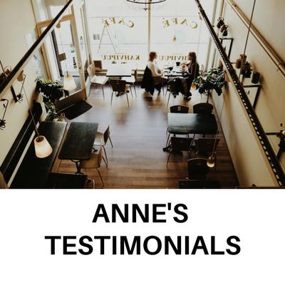 Anne DeVoe's Testimonials