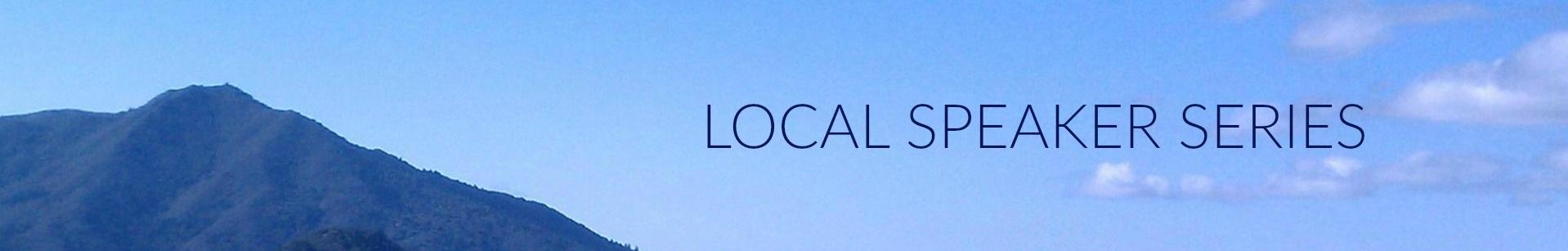 local speaker series
