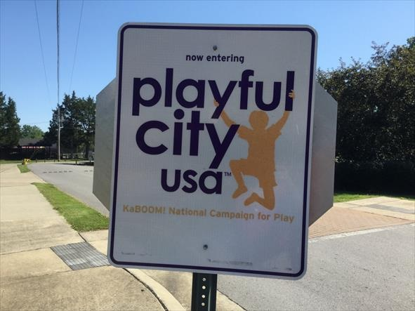 Most Playful City USA