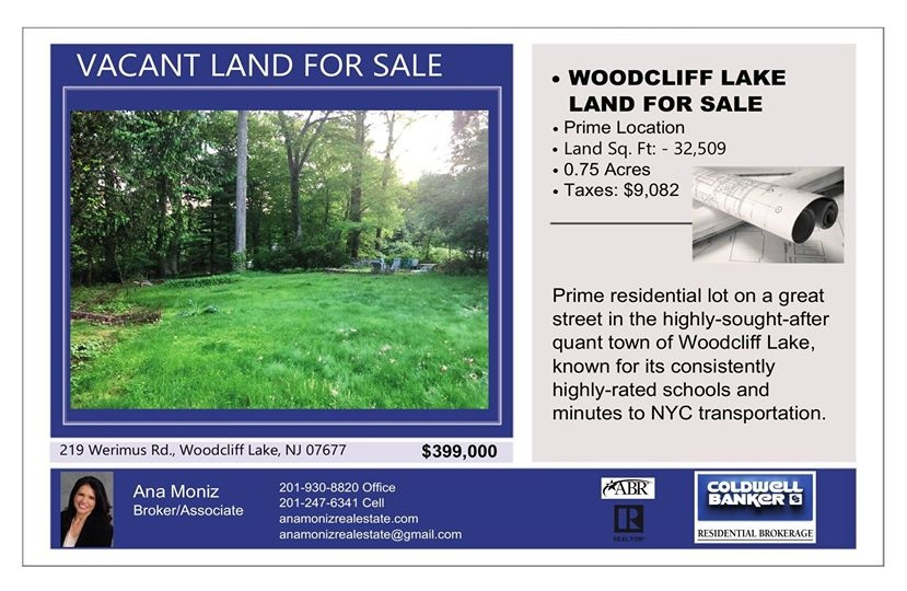 land for sale woodcliff lake