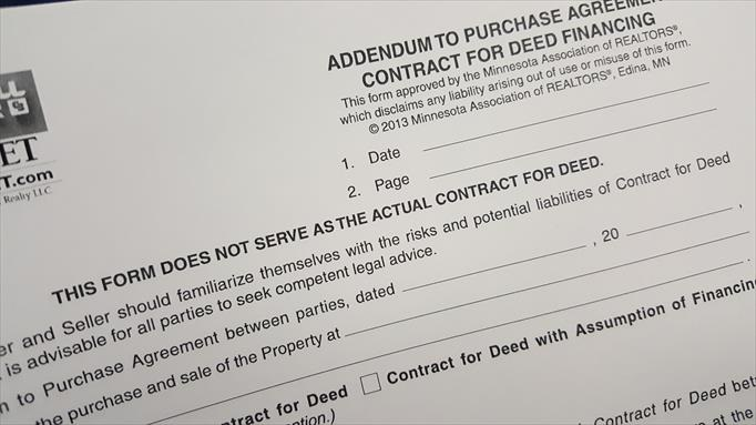 Can You Purchase A Home With A Contract For Deed