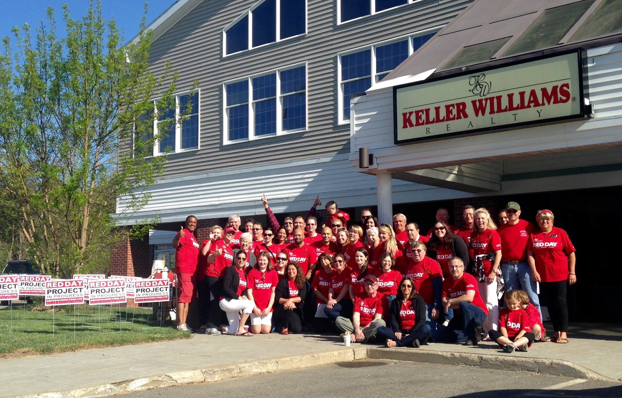 Red Day 2015 Keller Williams Cape Cod & the Islands
