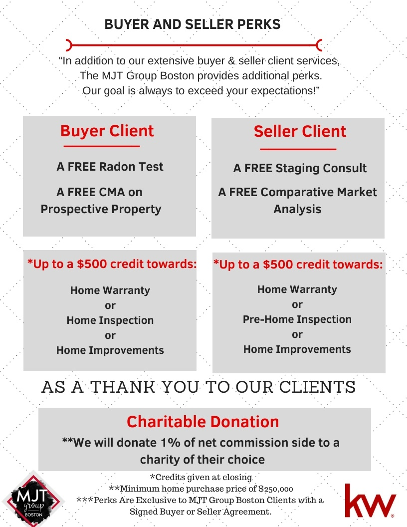MJT Group Buyer and Seller Perks