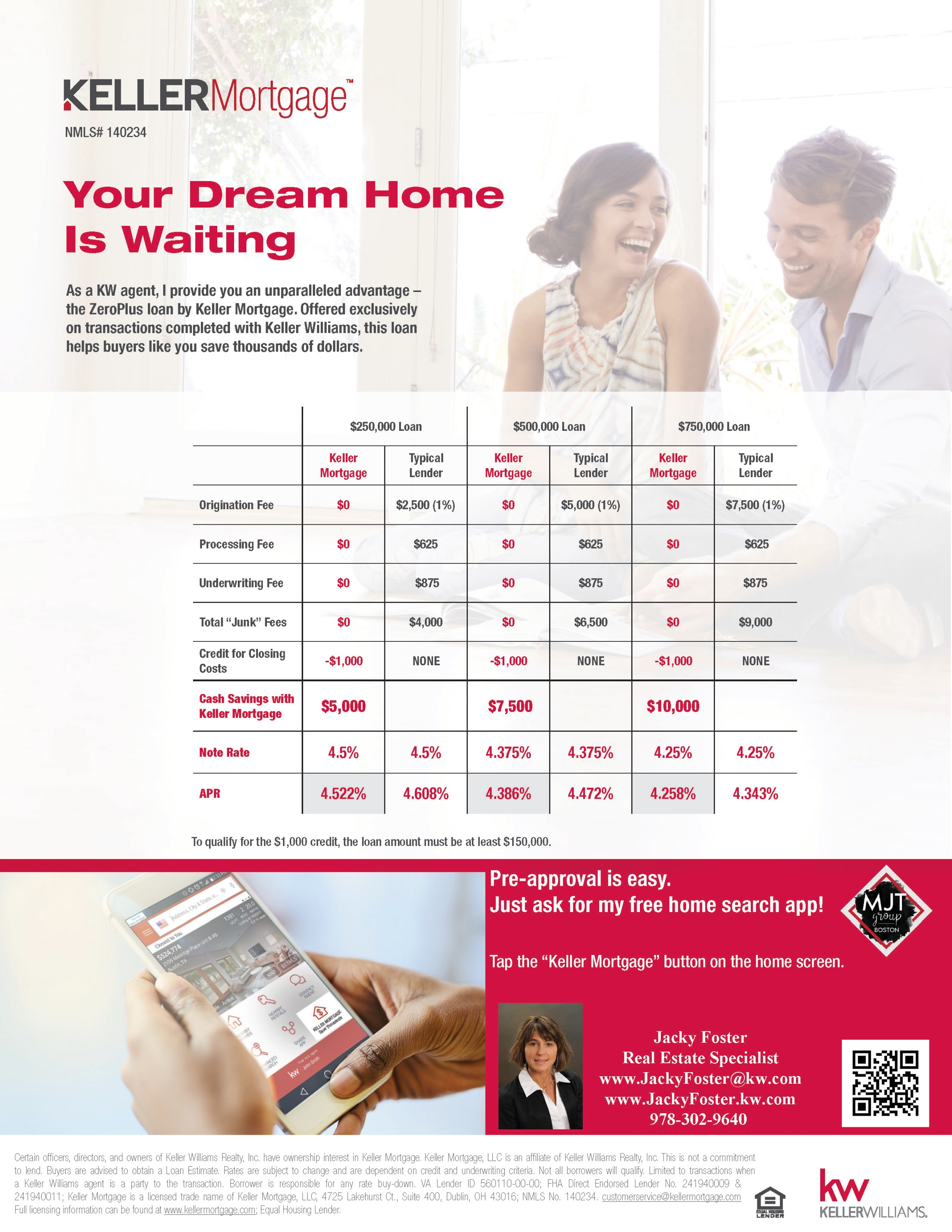 Keller Mortgage with Jacky Foster MJT Group Boston
