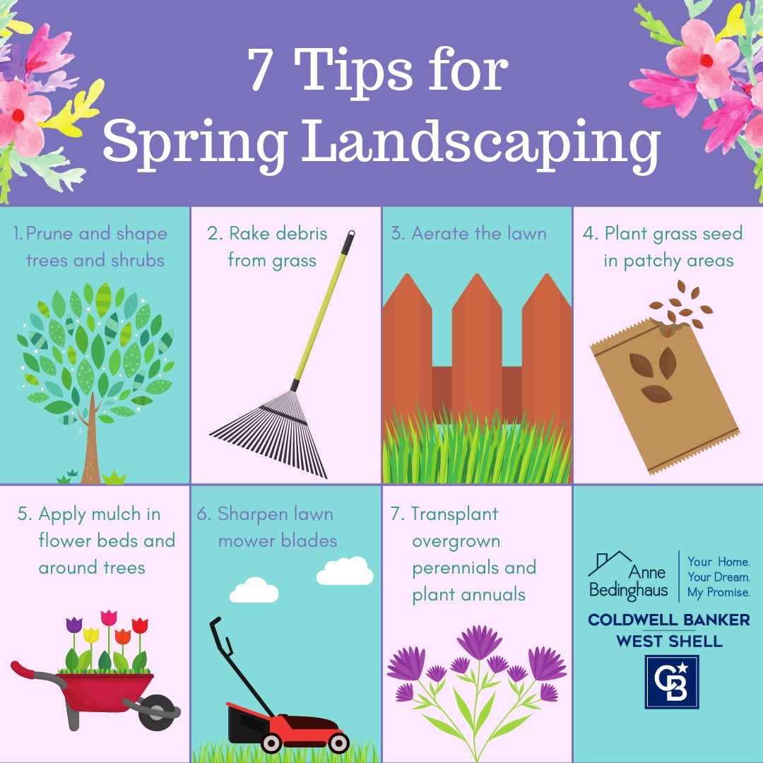 7 Tips for Spring Landscaping