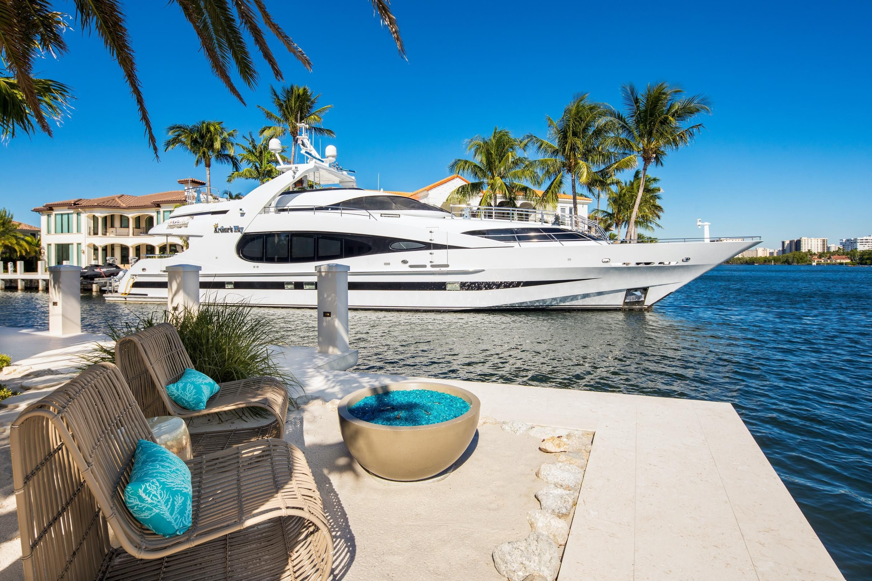 Jupiter Palm Beach Luxury Waterfront Homes For Sale With Docks