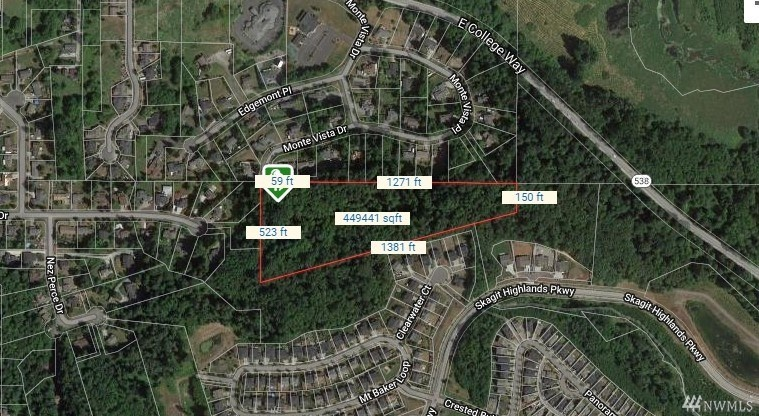 mount vernon land for sale