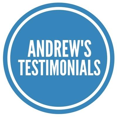Andrew's Testimonials