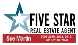 Five Star Real Estate Agent - Sue Martin