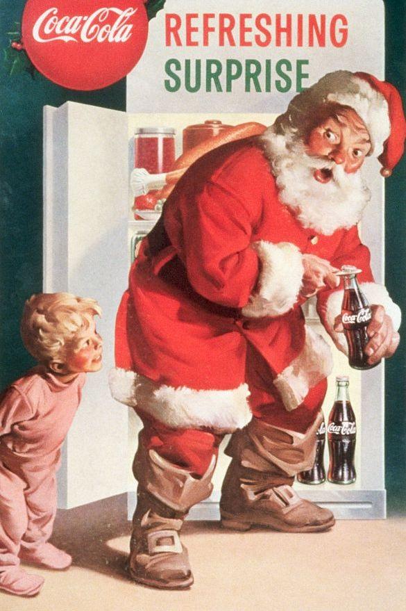 Coca - Cola Santa