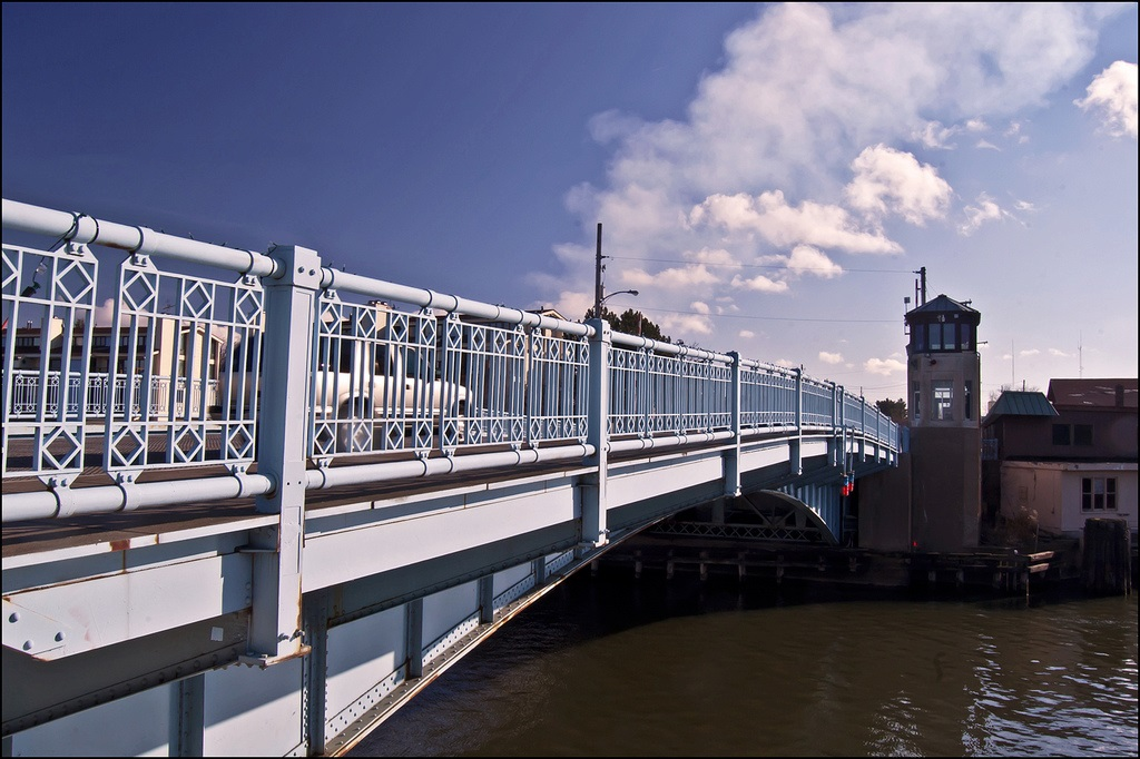 Michigan City Marina Bridge