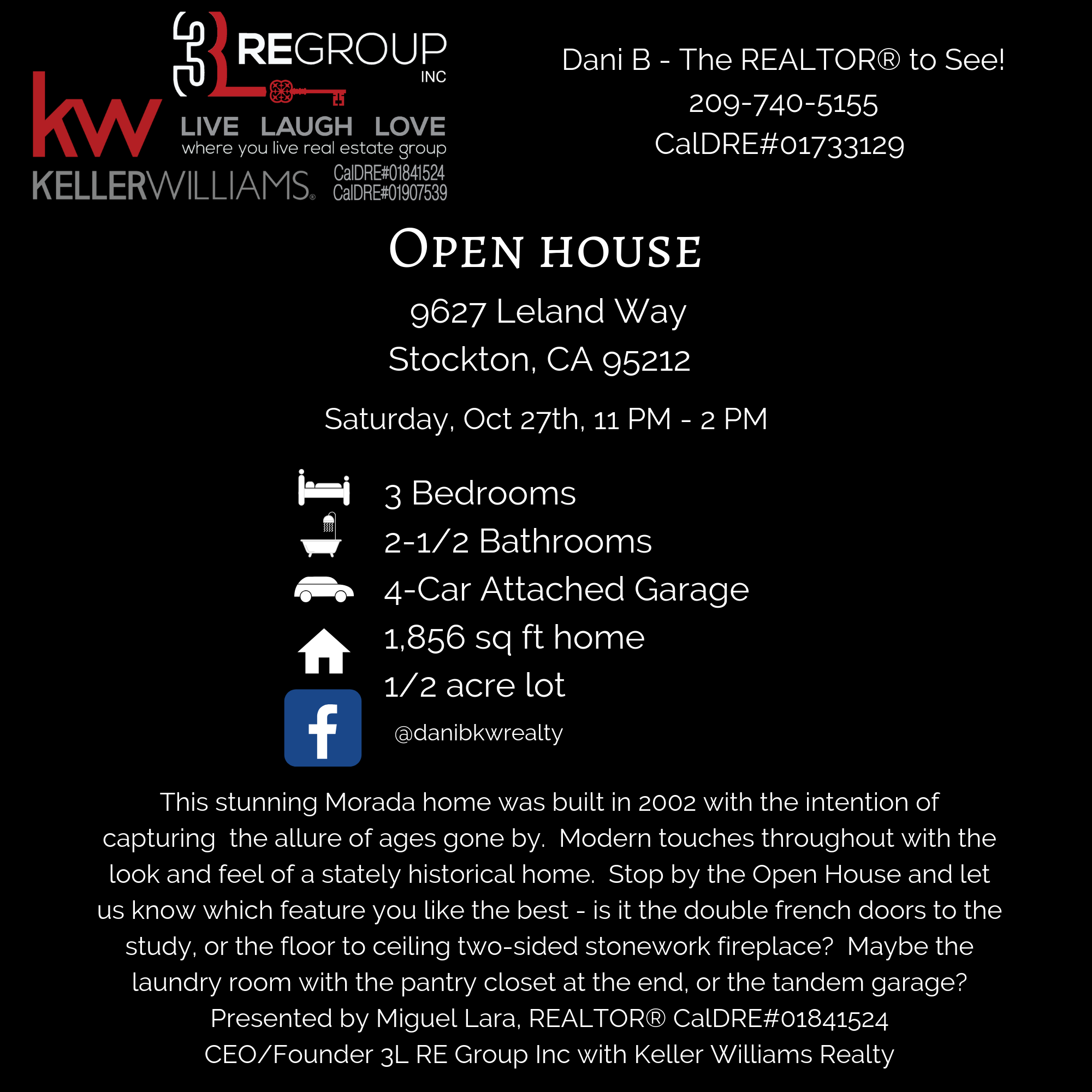 BLOG Open house 9627 Leland Way