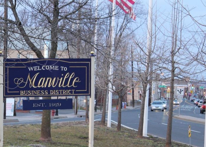 Manville NJ, Somerset County, Reading Cinemas, Walmart,