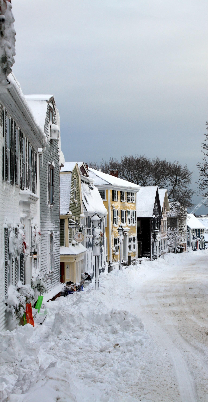 Snowy State Street