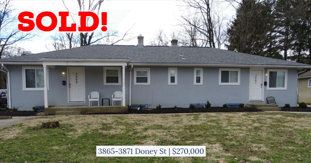 SOLD - 3865-71 Doney St