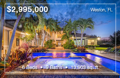 2988 Lake Ridge Lane Weston, FL