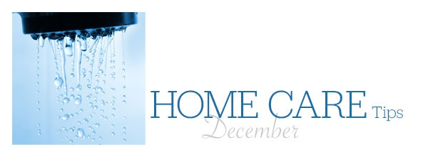 Home Care Tips December
