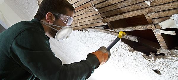Asbestos in Attic