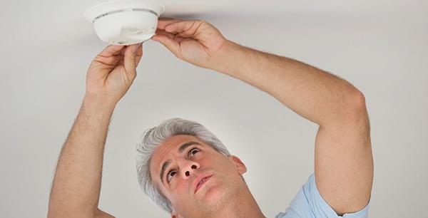 Check your smoke detectors