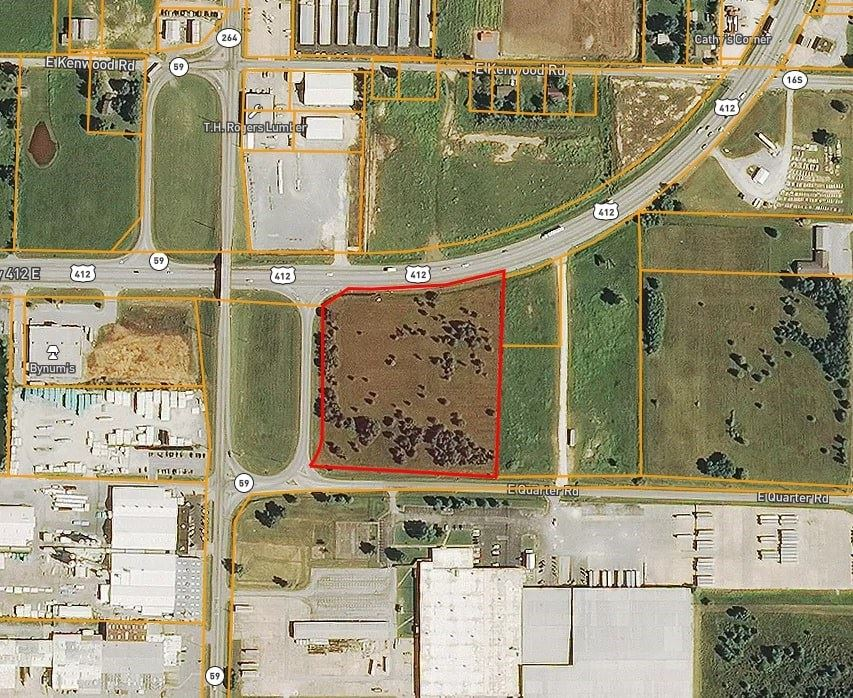 Property Image Of 0000 E 412 Highway In Siloam Springs, Ar