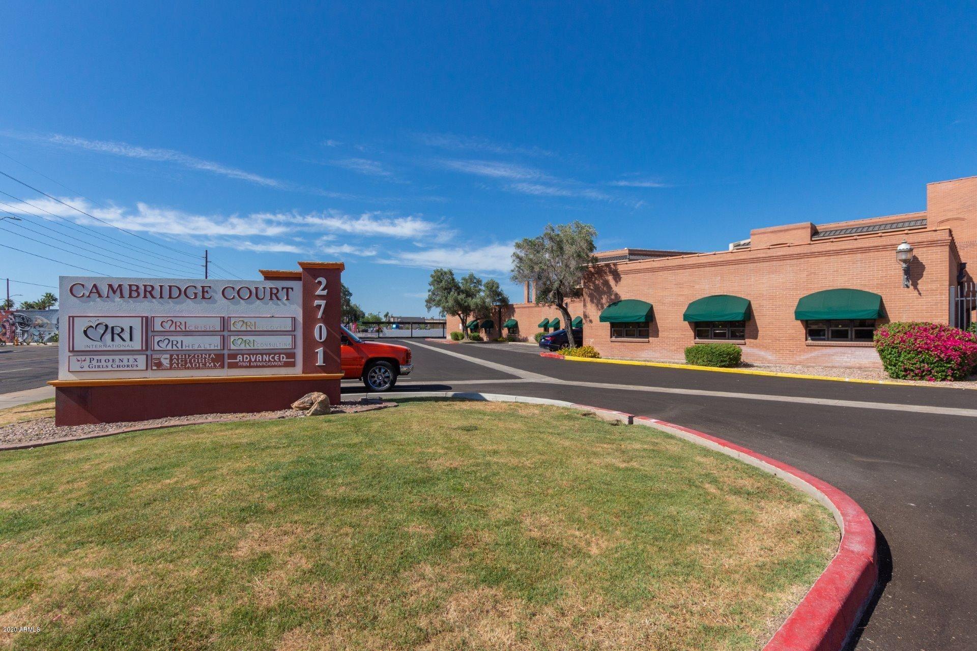 Property Image Of 2701 N 16Th Street #108 In Phoenix, Az