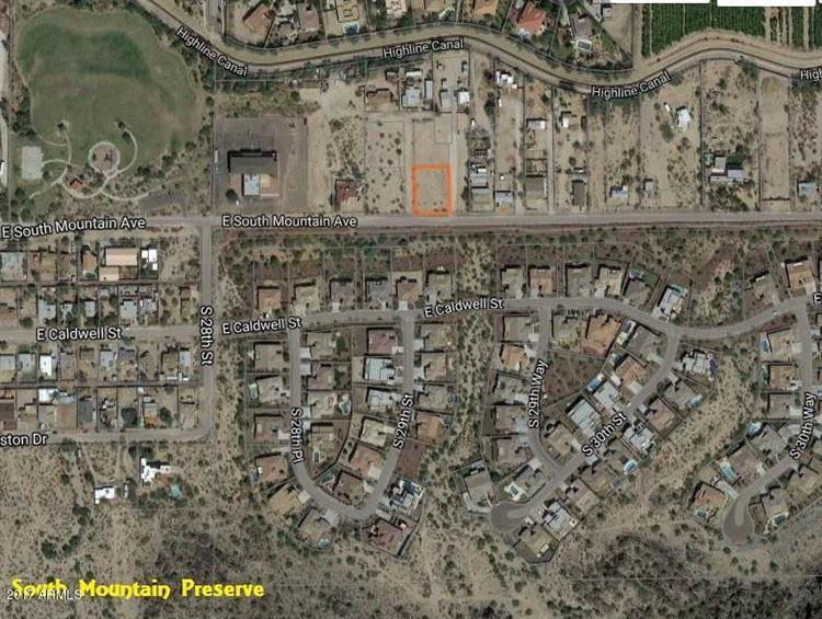 Property Image Of 2850 E South Mountain Avenue In Phoenix, Az