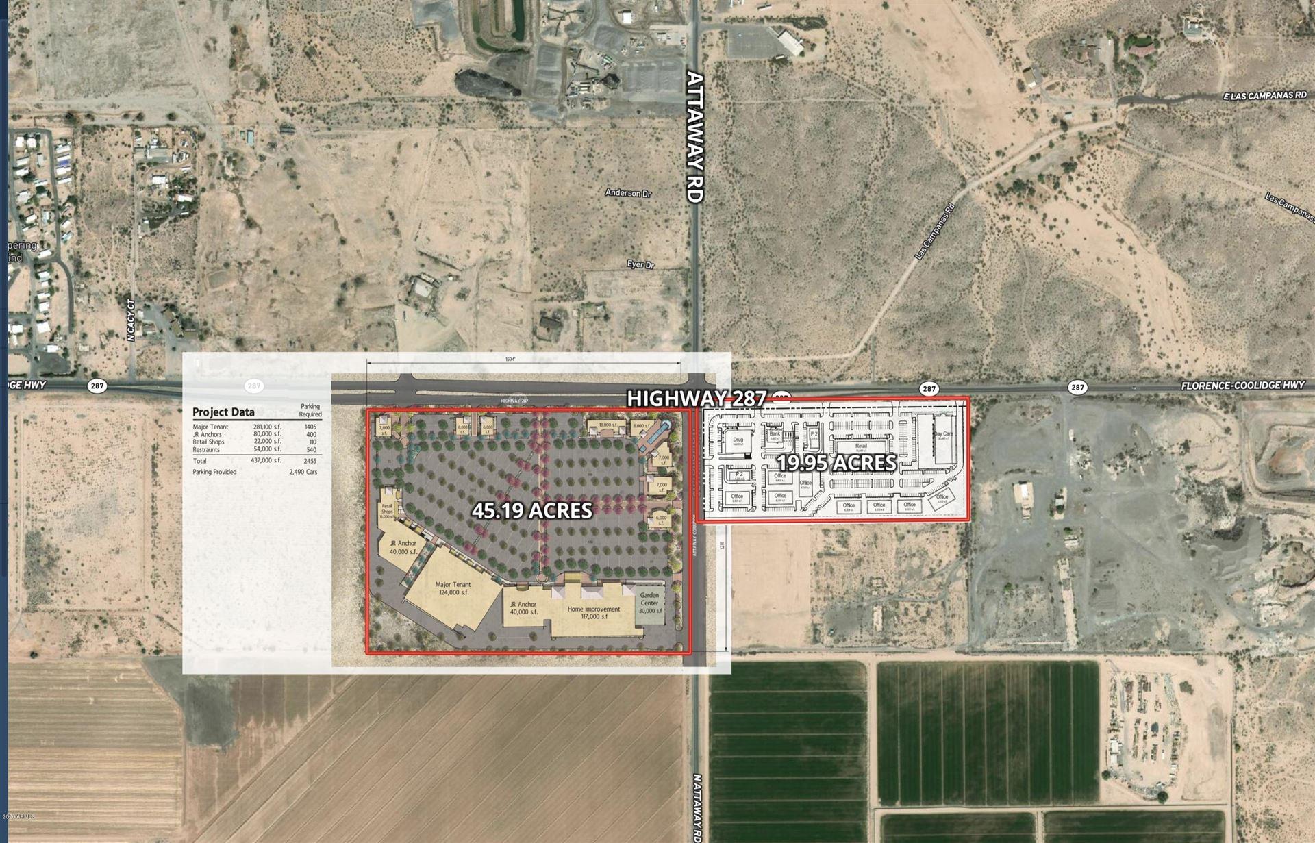 Property Image Of 0 S Highway 287 -- In Coolidge, Az