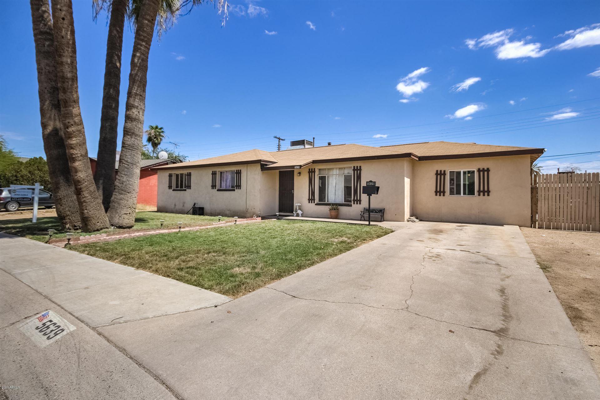 Property Image Of 5639 W Sells Drive In Phoenix, Az