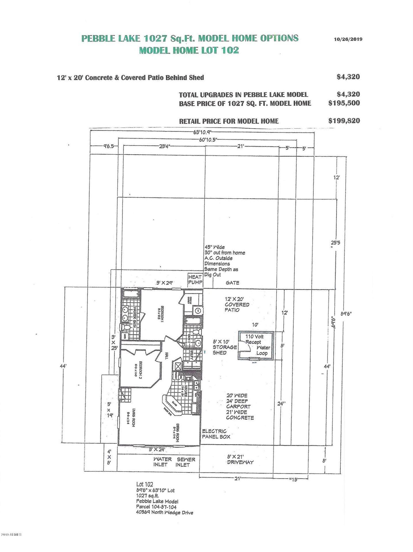 Property Image Of 971 E Tee Street In San Tan Valley, Az