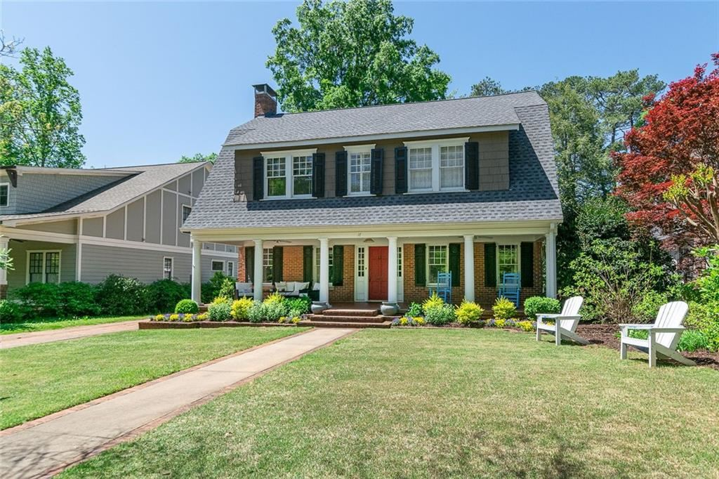 Property Image Of 17 Berkeley Road In Avondale Estates, Ga