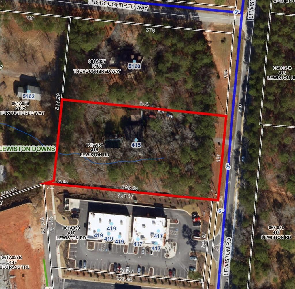 Property Image Of 415 Lewiston Road In Grovetown, Ga