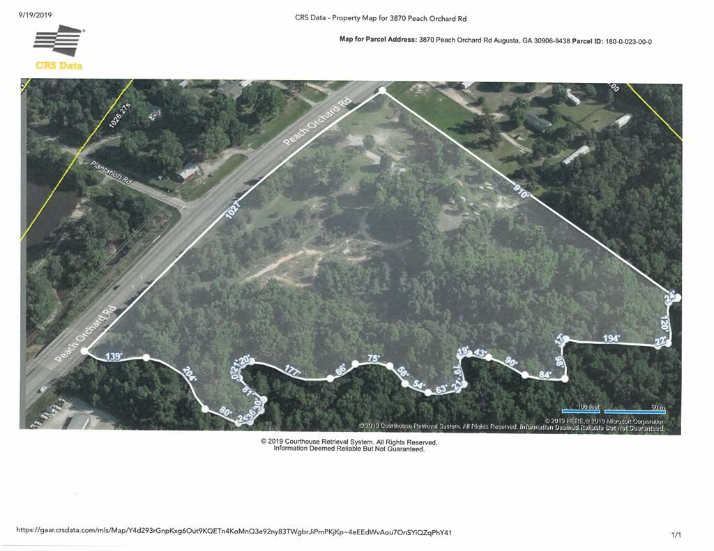 Property Image Of 3870 Peach Orchard Road In Augusta, Ga