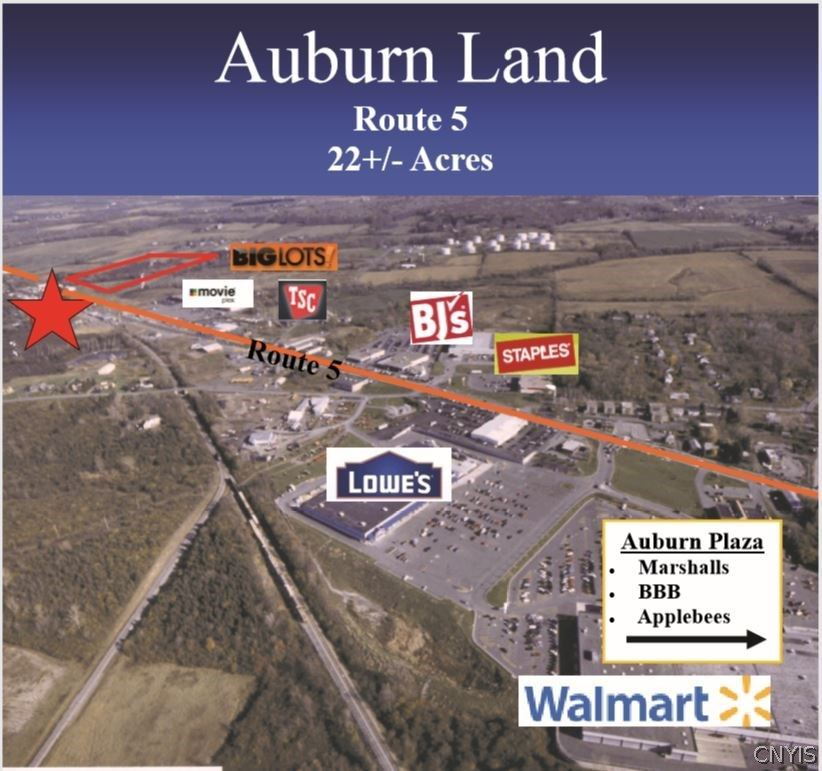 Property Image Of 00 State Route 5 Grant Avenue In Auburn, Ny