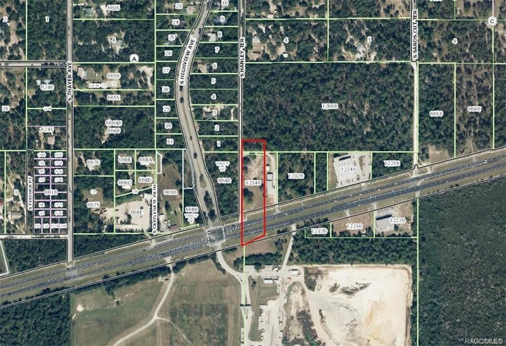 Property Image Of 239 W Gulf To Lake Highway In Lecanto, Fl