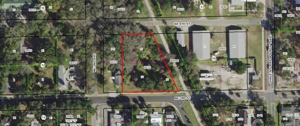 Property Image Of 00 Ne 3Rd Street In Crystal River, Fl