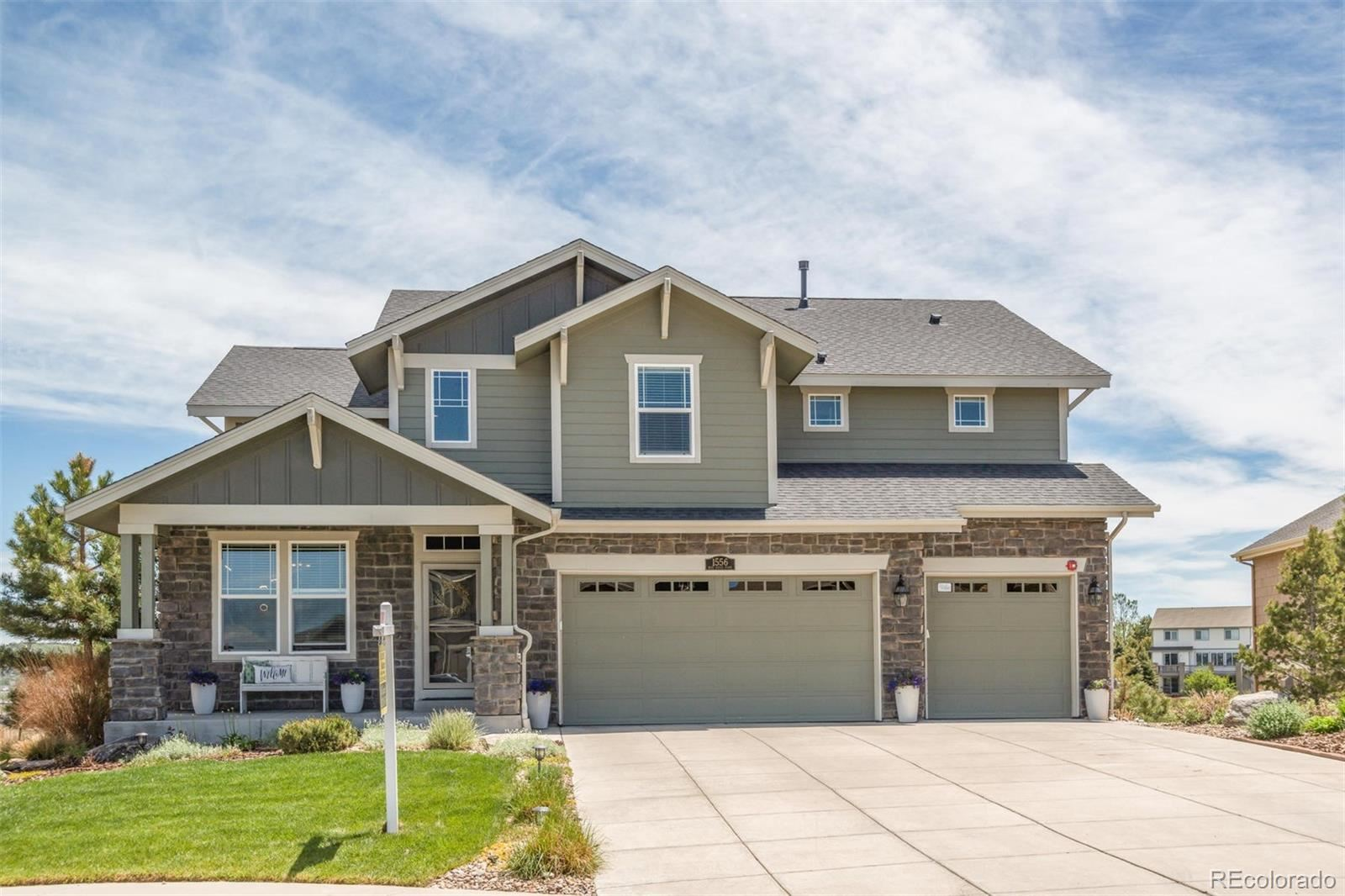 Property Image Of 1556  Bent Wedge Point In Castle Rock, Co